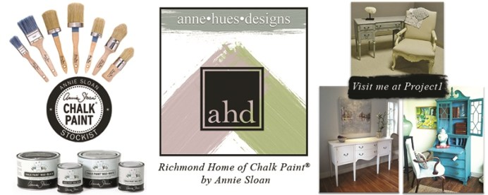 painted home furnishings with chalk paint by Annie Sloan