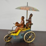 vintage wind up toy 3 wheeler