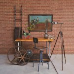 industrial loft style furnishings