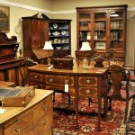 antique sideboards, desks, and bookcases