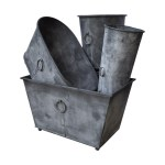 ring handled planters and troughs