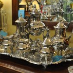 silver and silver plate