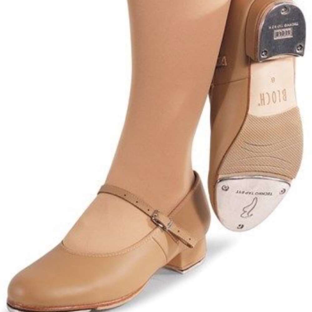 Tan Tap Shoes