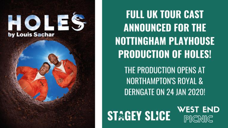 Full Cast Announced for UK Tour of Holes