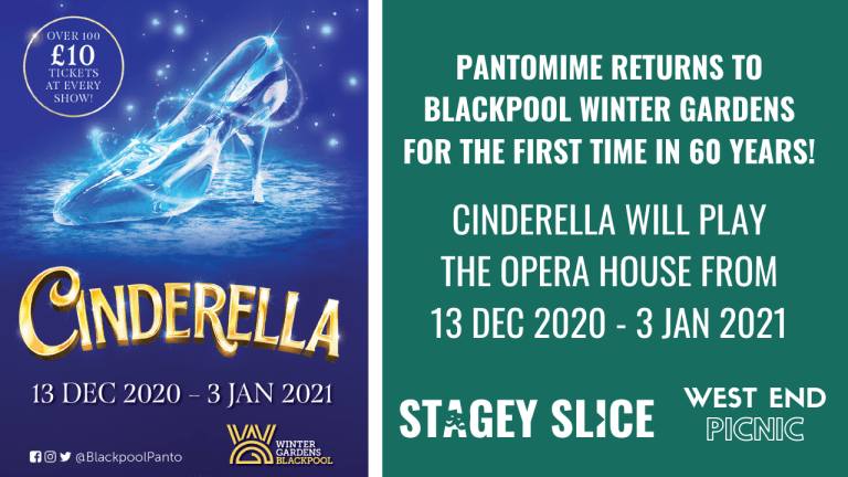Pantomime Returns To Blackpool Winter Gardens For The First Time In 60 Years