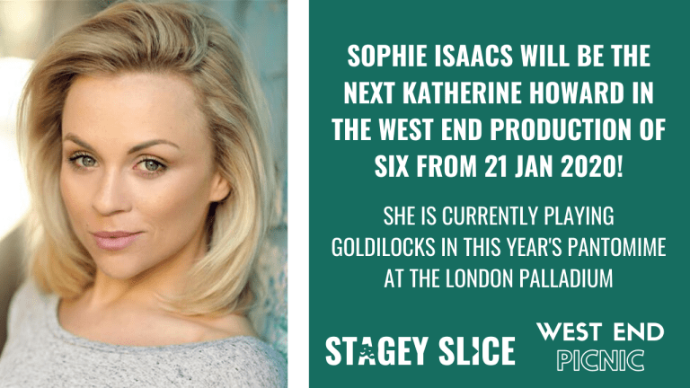 Sophie Isaacs to join the West End cast of SIX