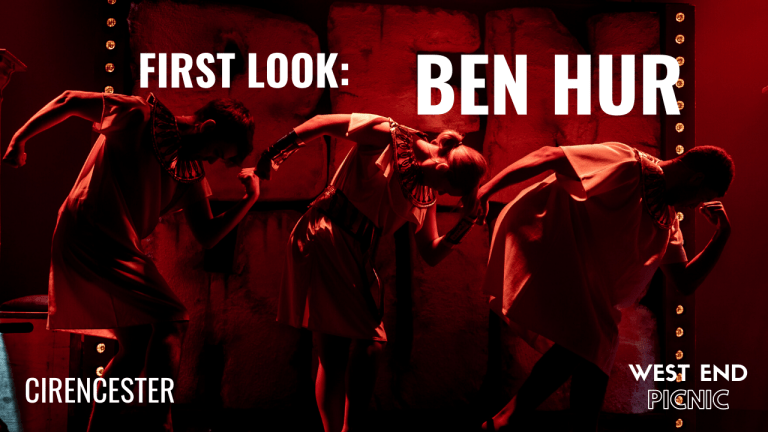First Look at the Barn Theatre's Production of Patrick Barlow's Ben Hur