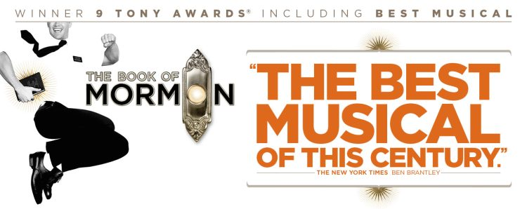 The Book Of Mormon at the Prince of Wales Theatre
