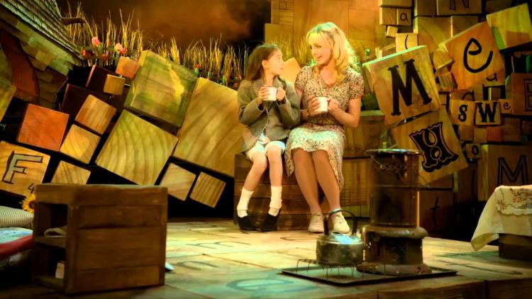 Matilda at the Cambridge Theatre