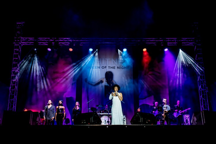 WHITNEY - QUEEN OF THE NIGHT at the Savoy Theatre in London's West End