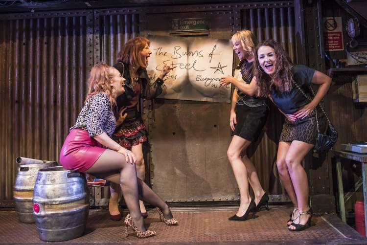 The Full Monty at the New Wimbledon Theatre in London