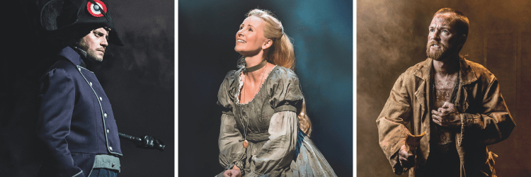 Les Miserables at the Queen's Theatre in London's West End