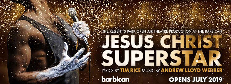 Jesus Christ Superstar at the Barbican Theatre in London