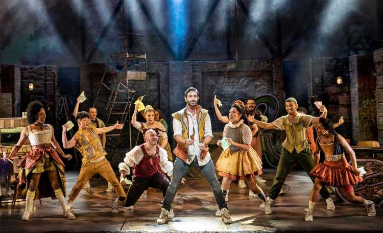 & Juliet at the Shaftesbury Theatre in London's West End