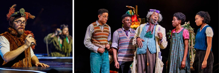 The Lion, the Witch and the Wardrobe at the Bridge Theatre in London