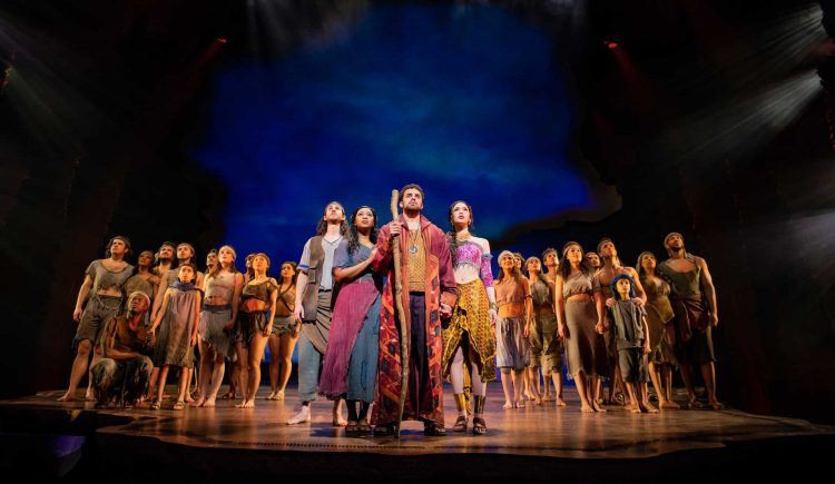 Dreamworks The Prince of Egypt at the Dominion Theatre in London's West End