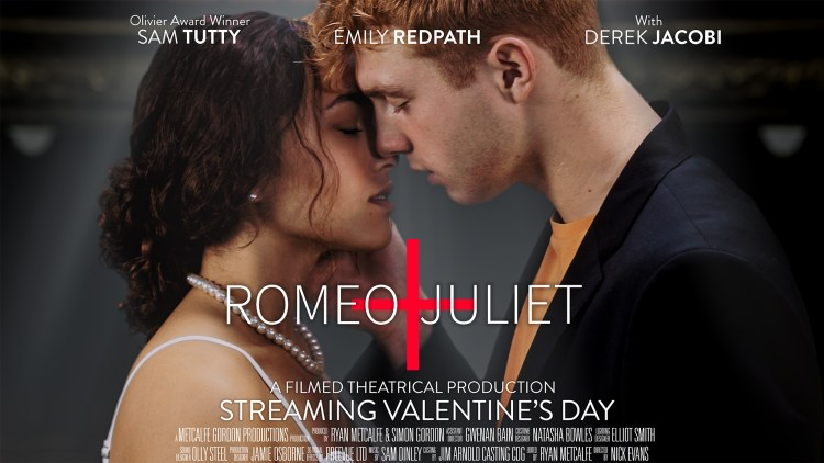 New filmed theatre production of Romeo and Juliet with Sam Tutty