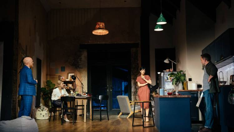 2:22 A Ghost Story at the Noel Coward Theatre in London's West End starring Lily Allen