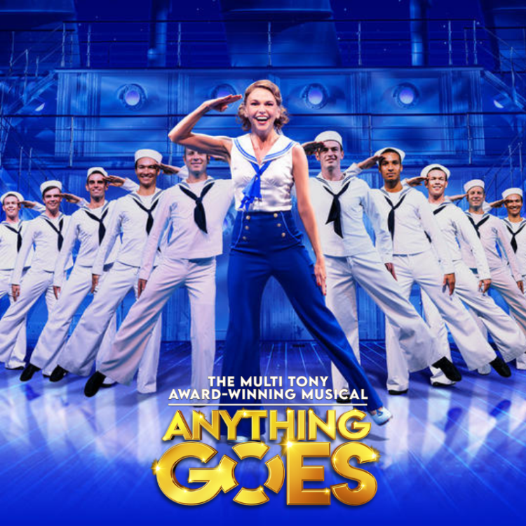 Anything Goes at the Barbican Theatre in London starring Sutton Foster