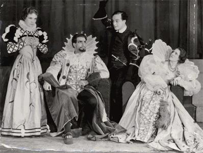 Hamlet Old Vic 1935
