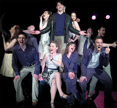 The cast of Company at the Union Theatre London