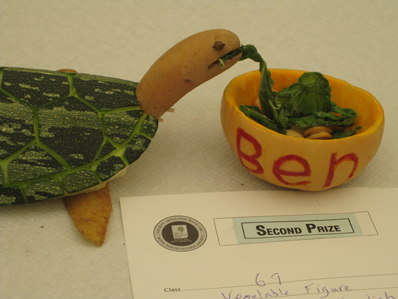Lambeth Country Show vegetable figures 2
