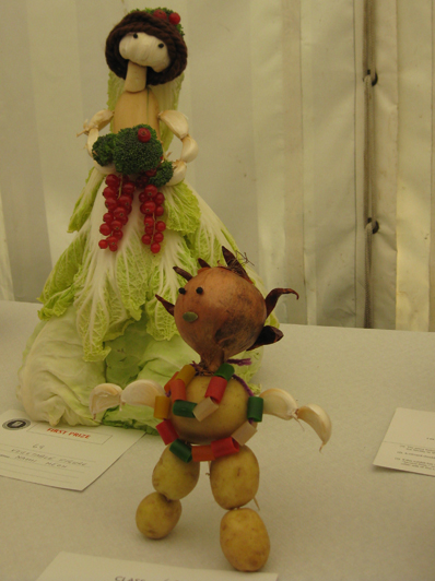 Lambeth Country Show vegetable figures 3