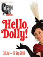 Hello Dolly Regents Park Open Air Theatre poster