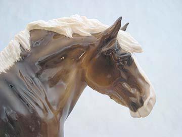 VALENTIN sculpture by Brigitte Eberl