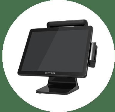 OKPoS EPoS terminal in black
