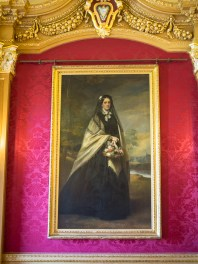 Portrait of Mrs Elizabeth Pryor (1815-1898), Oil on Canvas after 1861, attributed to Sir Francis Grant, PRA (1803-1878), on loan from the Glossop Pryor Foundation. Hylands House, banqueting room