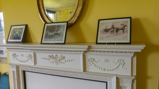 Hylands House - Repton Room - mantlepiece