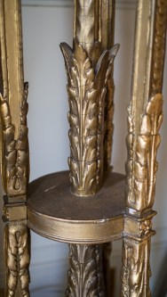Hylands House - Antique Torchere