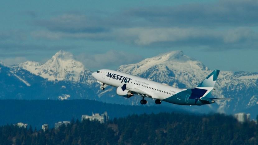 westjet cancel 737 max