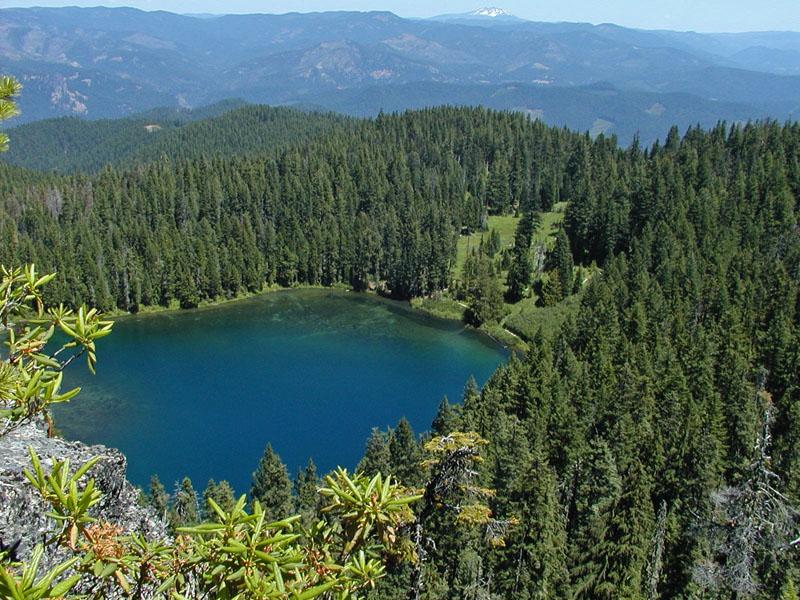 Round Creek Lake Park Rock