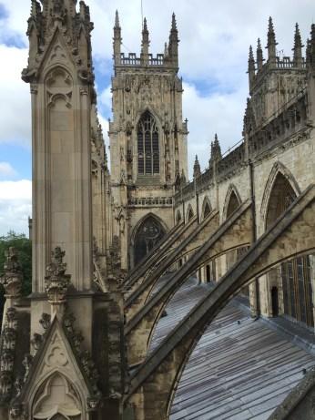 Gothic roof trusses