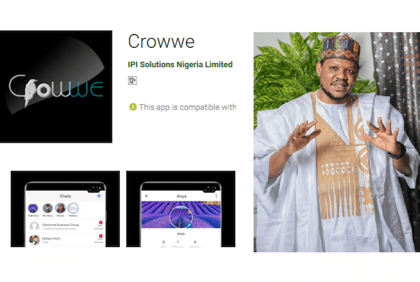 Ex-Presidential Aspirant, Adamu Garba's Crowwe Has Been Deleted From Play Store