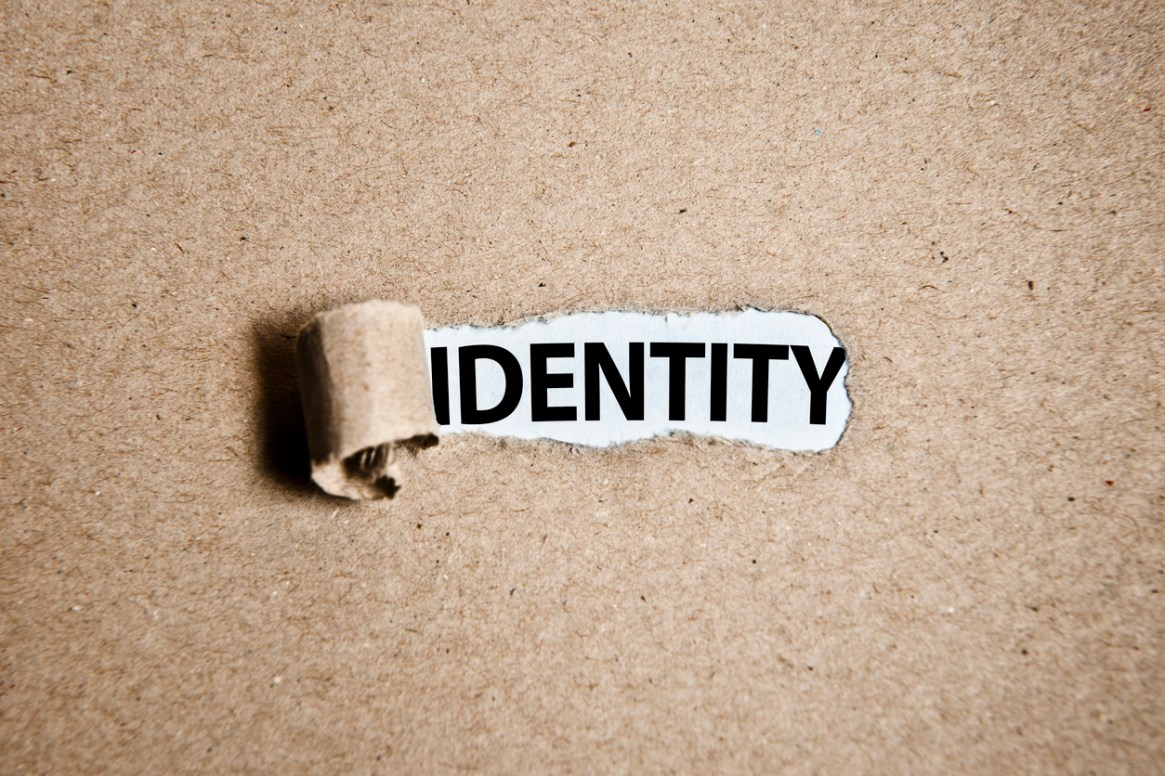 IDENTITY / Torn cardboard paper (Click for more)