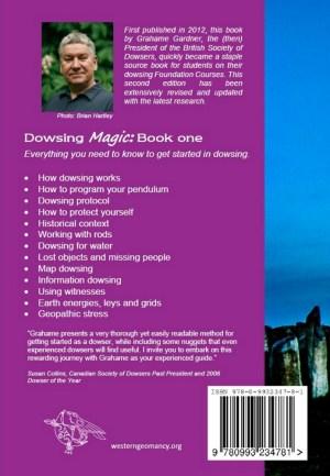 Dowsing Magic - back cover