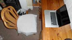 Chair grounding sheet