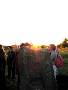 Sighthill summer solstice sunset 2010