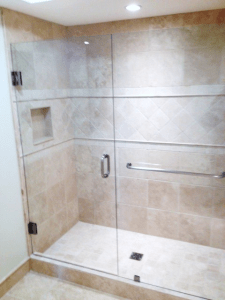 towel bar shower