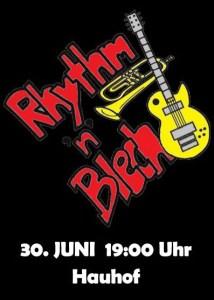 Konzert der Rythm & Blech im Hauhof