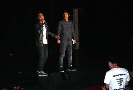 Kevin Wu, left, and Ryan Higa.