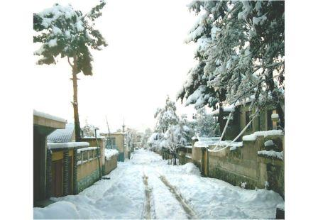 The snow of Kabul - Karte Parwan.