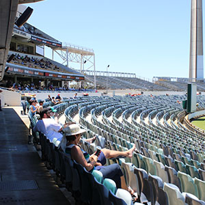 Fans still enjoy the WACA ground