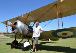 The Sopwith Pup is Filippi's favourite aeroplane.