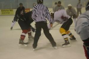 A drop of the puck will soon start the new AIHL season. Photo: Peter Dewar