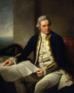 Captain James Cook.