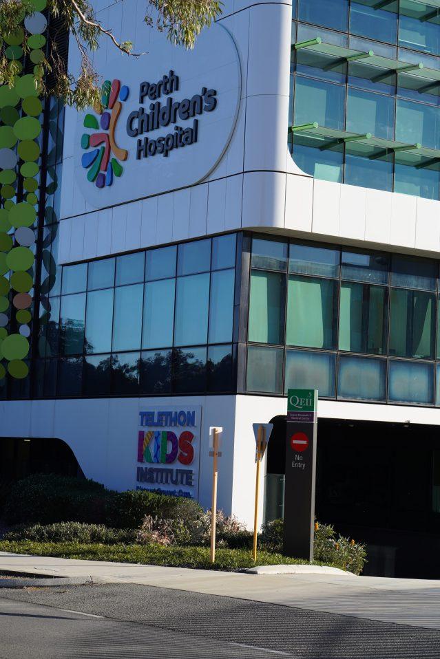 Perth's Children's Hospital. Credit: Ashley Parker